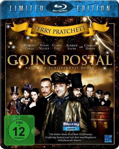 Terry Pratchetts Going Postal - Starmetalpack [Blu-ray] [Limited Edition] [Steelbook] @amazon.de; Prime 8,97€