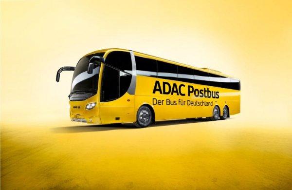 ADAC Postbus - Viele Strecken ab 5,10€