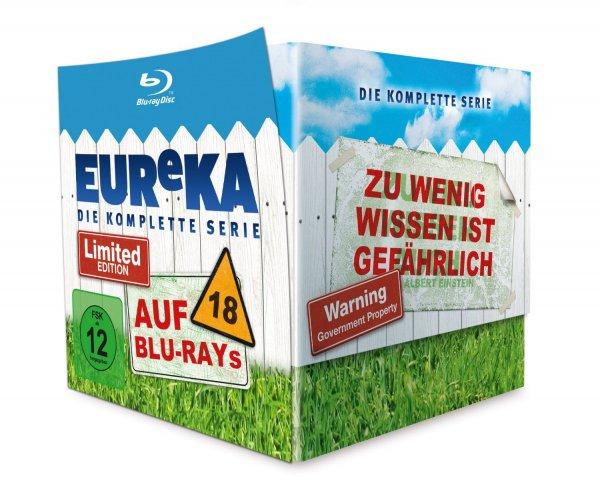 [media-dealer.de] EUReKA - Gesamtbox (18 Discs) [Blu-ray] [Limited Edition] inkl. Vsk für 53 €