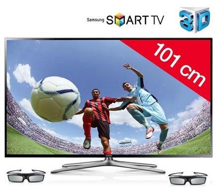 SAMSUNG UE40F6400 - LED-Fernseher 3D Smart TV für die WM in Brasilien