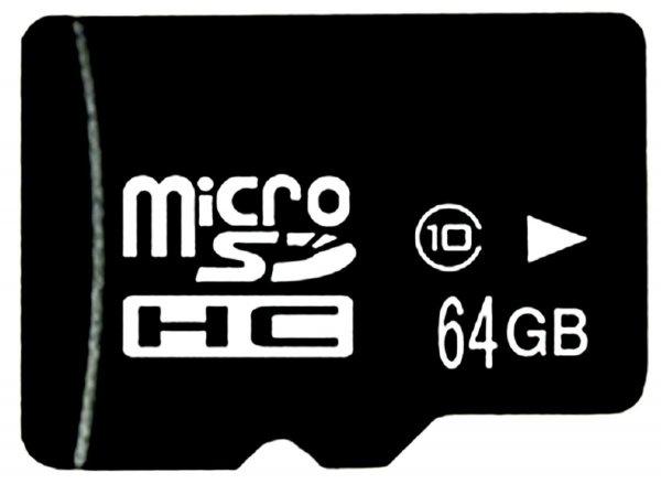 Micro SD 64GB Speicherkarte SDHC Class 10 schnelle Memory Card + Adapter NEU (Ebay)