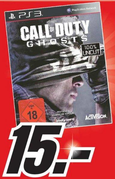 [Lokal Halberstadt] Call of Duty Ghosts (PS3) für 15€