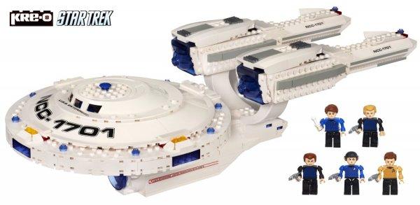 [Amazon]  Hasbro A3137E24 - KRE-O Star Trek USS Enterprise – Baukasten