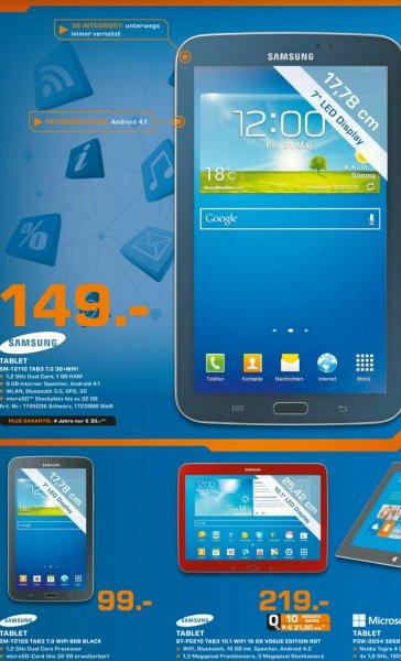 Samsung Galaxy Tab 3 7.0 WiFi + 3G (lokal Kassel & Baunatal)