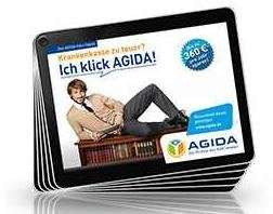 USB-Stick im Kartenformat bei AGIDA