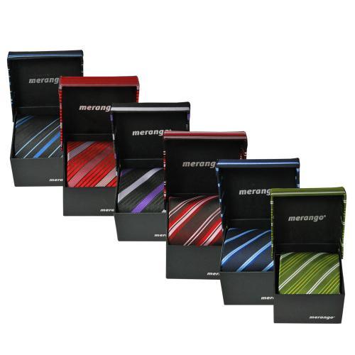 2er Set Krawatten in Geschenkbox (Tie Schlips Binder) @Ebay