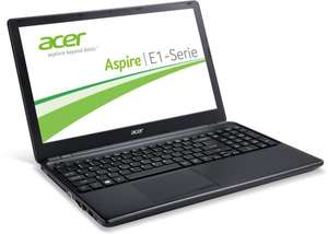 "Acer Aspire E1-530 - Ordentliches 15,6"" Dualcore-Notebook (matt) mit 500 GB, 4 GB RAM und Win 8 - Amazon Blitzangebot"