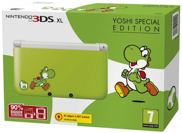 Nintendo 3DS XL Yoshi Special Edition für 162€ @Amazon.co.uk