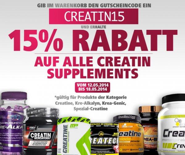 Creatin Produkte 15% Rabatt bei fitmart.de