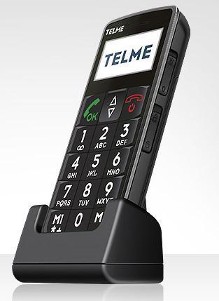 Telme C121 - ein Handy für ältere Menschen