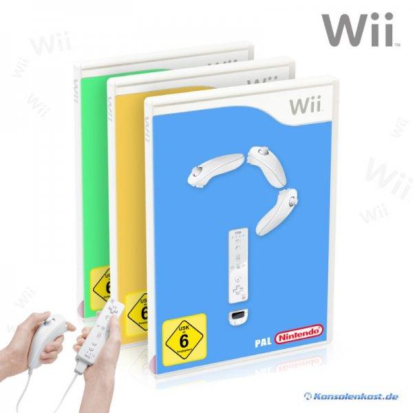 Wii Wundertüte @KonsolenKost - 3 gebrauchte Wii-Spiele für 6.99 zzgl. Versand