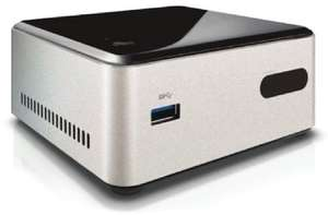 Intel NUC Kit DN2820FYKH (Intel Celeron N2820, 2,4GHz, 8GB RAM, HDMI, 3x USB) EUR 132,24@Amazon