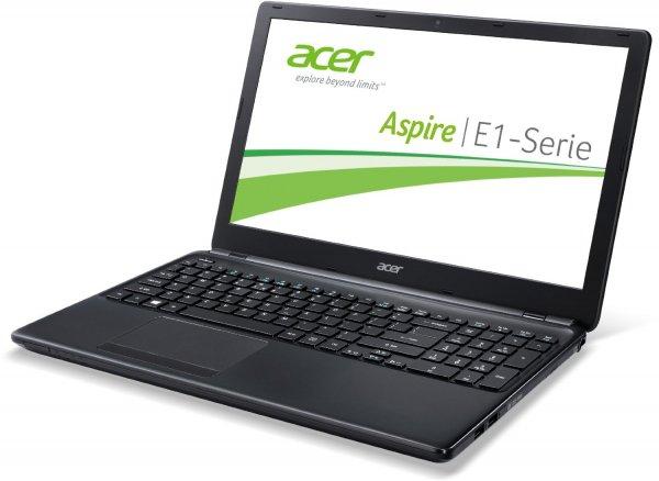 """Acer Aspire E1-570 - Ordentliches 15,6"""" Dualcore-Notebook (matt) mit Core i3, 500 GB und 4 GB RAM @ Amazon"""