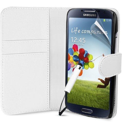 Weiß Supergets Hülle für das Samsung Galaxy S4