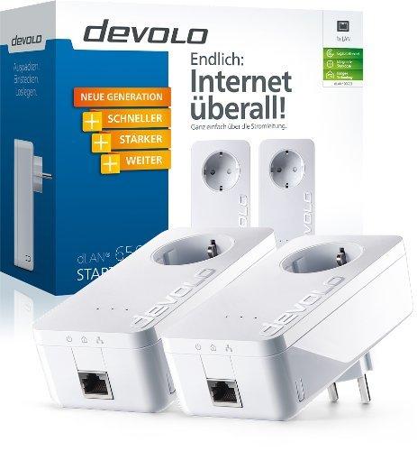 Devolo dLAN Powerline 650+ Starter Kit  (2 Adapter mit Steckdose)  @Amazon