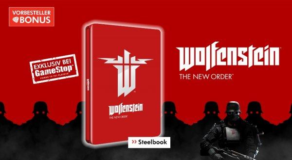Wolfenstein The new Order 39,99 (PS3, Xbox360) bzw 49,99 (PS4, Xbox1) + Steelbook NUR FÜR GS LEVEL 3 Mitglieder