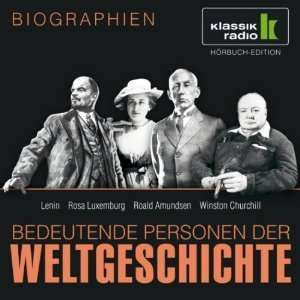 Hörbuch Audible Bedeutende Personen der Weltgeschichte