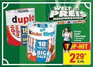 [METRO] Duplo & Kinderriegel 18er Big Pack - 2,45€
