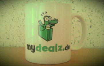 Kostenlose Tasse mit deiner Grafik