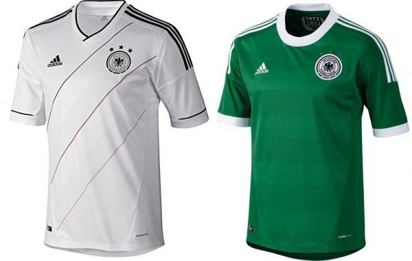 Adidas DFB-Trikot EM 2012 Heim & Auswärts für 23,96€