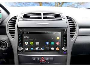 2-DIN Android-Autoradio - GPS, WiFI, BT2, MirrorLink (refurbished) 470,- € günstiger