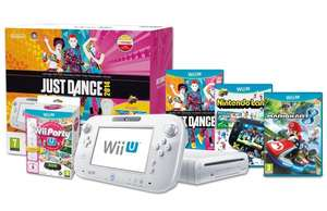 [amazon.co.uk] Wii U Basic, 2 Wiimotes mit Nintendoland, Just dance 2014, Wii party U   für 252€