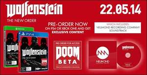 [amazon.co.uk] Wolfenstein PS4 (Uncut) + Soundtrack CD