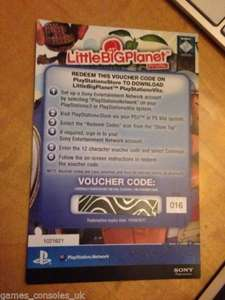 [ebay.de] Sony PS VITA Little Big Planet Download Code für 9,94€