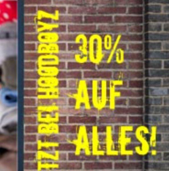 30% Rabatt bei Hoodboyz