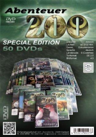 Abenteuer Zoo (50 DVD´s)