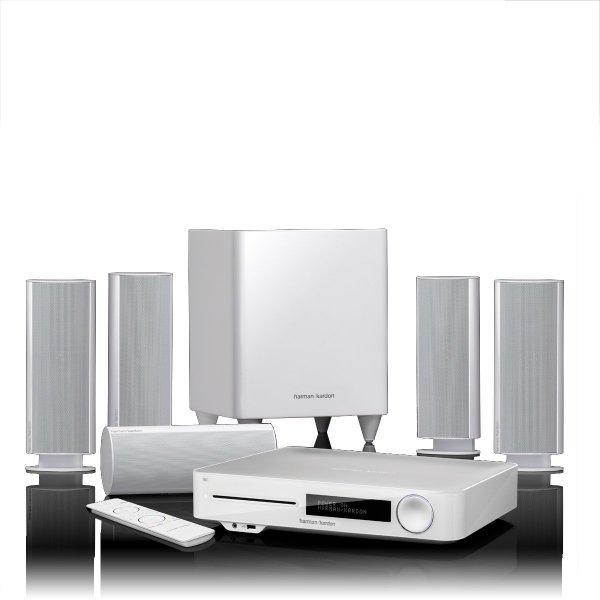 Harman Kardon BDS 7773W 5.1 3D Blu-ray System (Airplay, DLNA, Bluetooth, HDMI)
