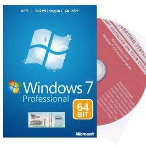 Windows 7 Professional 64bit - DEUTSCH - OEM Multilingual @ Tradoria :-) (alle weg )