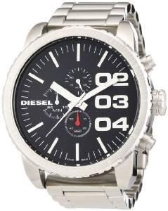 Diesel Herren-Armbanduhr XL Franchise-51 Chronograph Quarz Edelstahl DZ4209