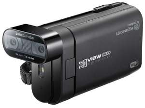 LG DXG IC330 3D Camcorder (Full HD, Digital Zoom, CMOS Sensor) schwarz für 51,70€ @Amazon.de