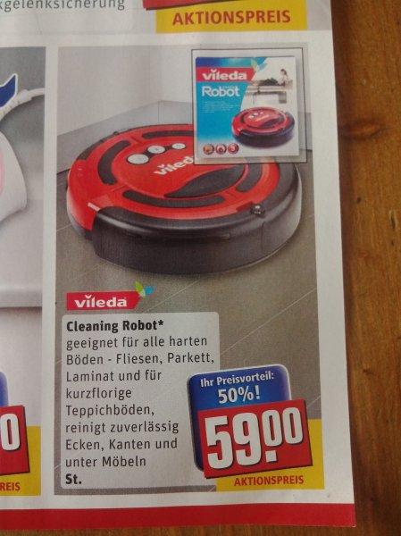 Saugroboter Vileda Cleaning Robot bei Rewe ab 19.5. (deutschlandweit? ) > 40 % unter idealo und> 30 % unter bisherigen HUKD-Bestpreis