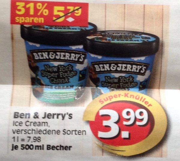 Ben & Jerry's bei E-Reichelt in Berlin für 3,99€