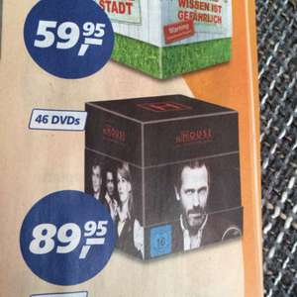 [lokal bochum]Dr.house komplett box für 89,95
