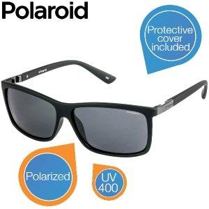 Polaroid Sonnenbrille Unisex, schwarz/grau - P8346A für 24,95€ zzgl. 5,95€ Versand @iBOOD