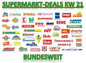 [BUNDESWEIT] Alle Supermarkt Deals KW21/2014 (Angebote + Coupons)