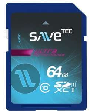 Eine noch...: 64 GB SaveTec SDXC, Class 10 bis 60MB/s, 4.6 Amazon-Sterne