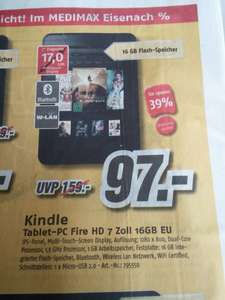 [Lokal Medimax] Kindle Tablet-Pc Fire HD 7Zoll 16GB EU 2013