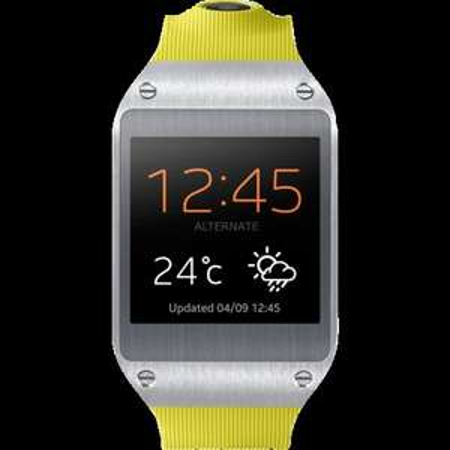 Samsung Smartwatch Galaxy Gear (SM-V7000) lime-green @zackzack Flash
