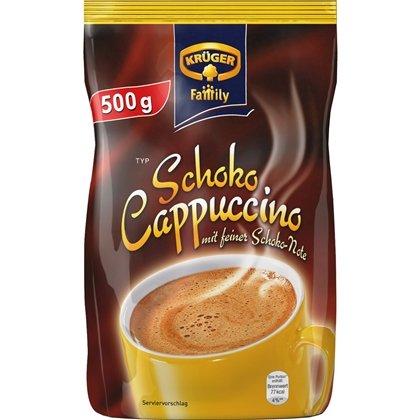 Kaufland (z.B. Hannover): Krüger Family Typ Cappuccino, verschiedene Sorten, je 500g-Beutel nur 1,66 Euro