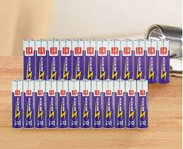 Kaufland (z.B. Hannover, Bremen, Berlin): K Classic Alkaline-Power-Batterien, Micro AAA oder Mignon AA, je 12 Stück-Packung nur 1,99 Euro