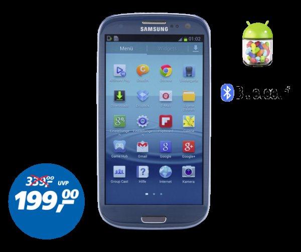 Samsung Galaxy S3 für 199,- Euro ohne SIM Lock @ Real (On und Offline)