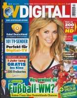 6 Ausgaben TV Digital + 32 GB USB Stick für 7,50€!!! Andere Prämien wählbar