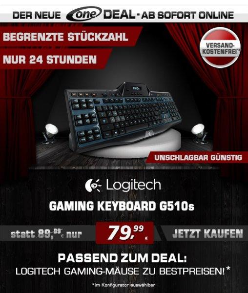 Logitech G510S Gaming Tastatur für 79,99€ @One.de inkl. VSK