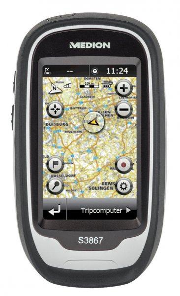 MEDION GoPal S3867 MD 98406 Outdoor Navigationssystem wieder verfügbar nochmal 5 Euro billiger
