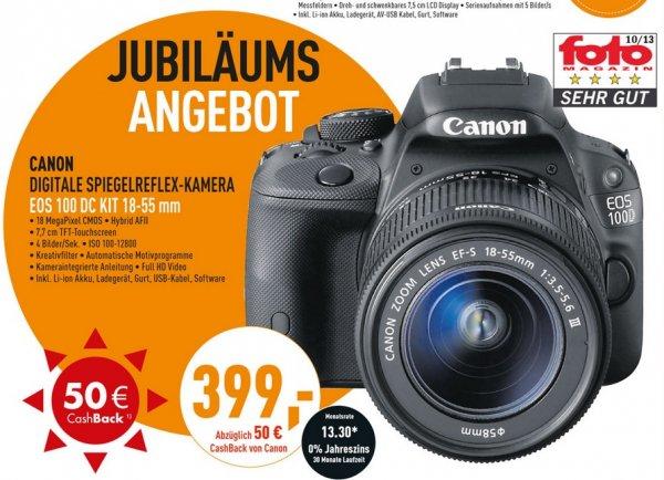Canon EOS 100D Kit 18-55DC mm für 399€(-50€ Cashback = 349€),JBL OnBeat Awake für 40€,BenQ TH681 für 555€ @ Berlet (Geburtstagsangebote)