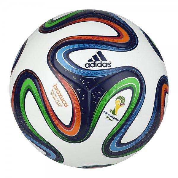 Adidas Brazuca Replica Ball WM 2014  bei Teamsport Philipp Gr. 5 für 17,95 € + 4,99 VSK